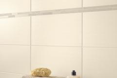 Wandfliese: 25x50cm, 20,92 EUR/qm  Bordüre: 4x50cm, 8,24 EUR/Stck