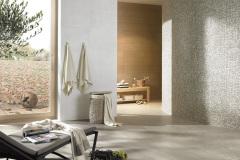 Mosaik Boden: 5x5cm, 71,84 EUR/qm Mosaik Wand: 1x1cm, 233,74 EUR/qm