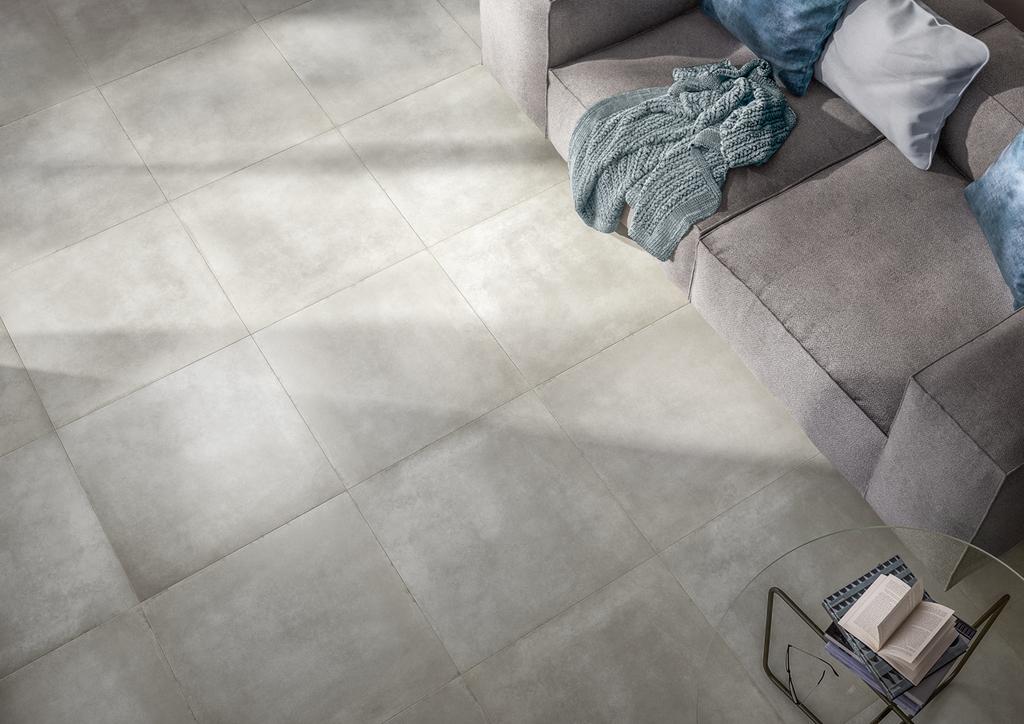 grey floor